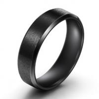 Кольцо черное BVRT003
