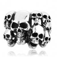 Кольцо с черепами BVRT006
