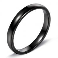 Кольцо черное BVRT011