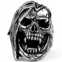 Кольцо череп BVRT054