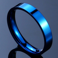 Кольцо синее BVRT061