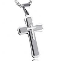 Кулон крест HWPT059