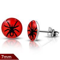 Серьги с пауком ELEB264