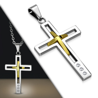 Кулон крест PPCR063