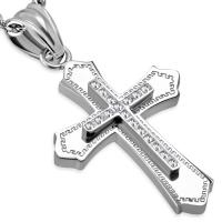 Кулон крестик PPCR625