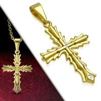 Кулон крест PPCR718