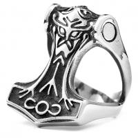 Кольцо молот Тора RRMT134