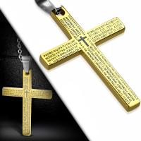 Кулон крест PPCR067