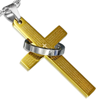 Кулон крест PPCR477
