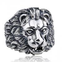 Кольцо со львом B-RT021