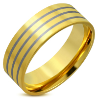 Кольцо позолоченное RERG029