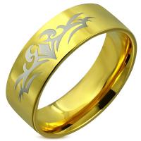 Кольцо позолоченное RERG032