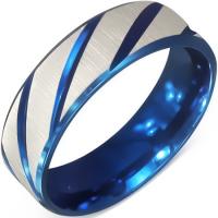 Кольцо синее RNRM057